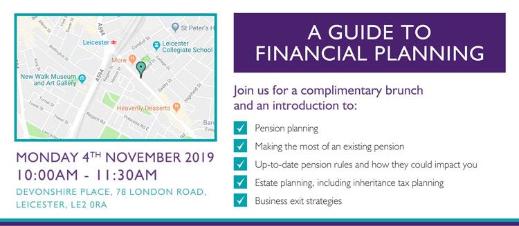 financial planning seminar details